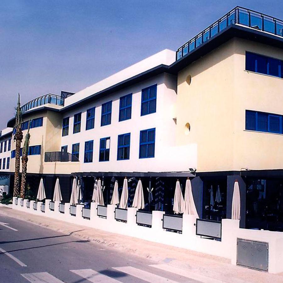 tabiques pladur y techos Benidorm hotel rober