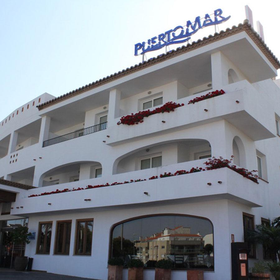 yeso laminado castellon hotel puertomar